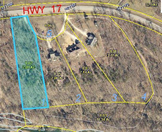 0 Lot 1 Darby's Ridge, Waynesville, MO 65583 (#19072028) :: St. Louis Finest Homes Realty Group