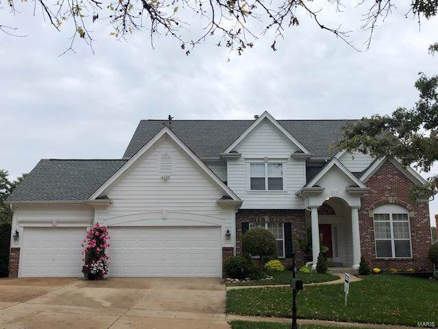 14005 Eagle Manor Court, Chesterfield, MO 63017 (#19076370) :: Peter Lu Team