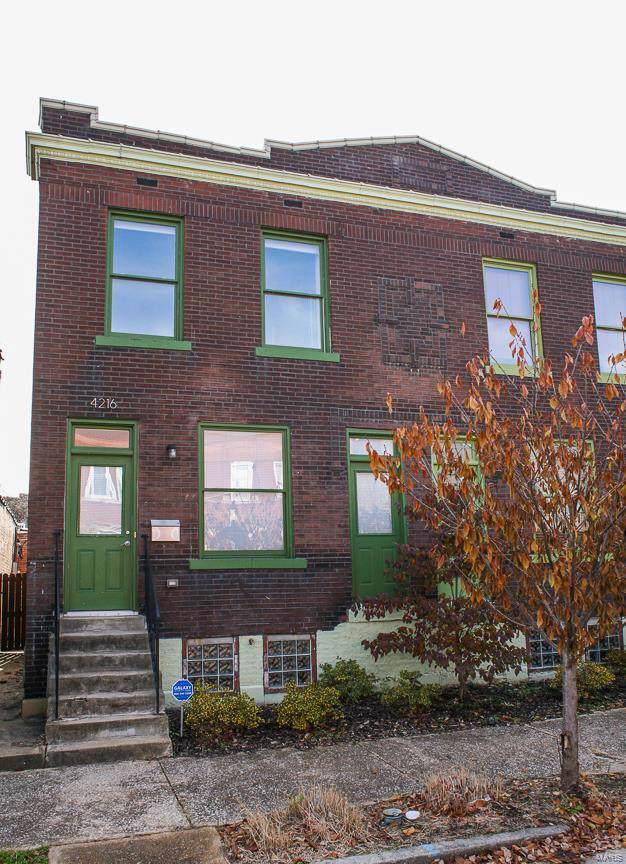 4216 Gibson Avenue, St Louis, MO 63110 (#19087875) :: Realty Executives, Fort Leonard Wood LLC