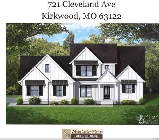 721 Cleveland Avenue, Kirkwood, MO 63122 (#20002064) :: Peter Lu Team