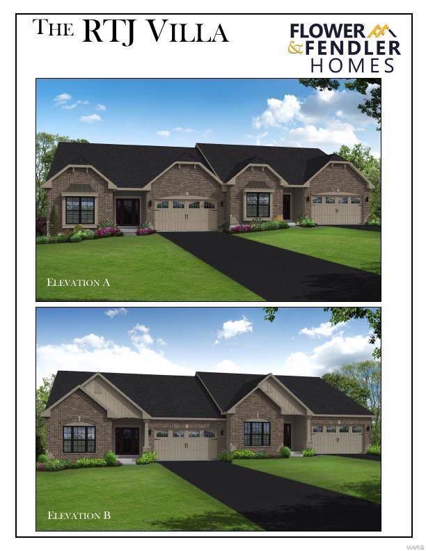 2 Villas /Ridge Pointe @ Legends, Eureka, MO 63025 (#20002402) :: Clarity Street Realty