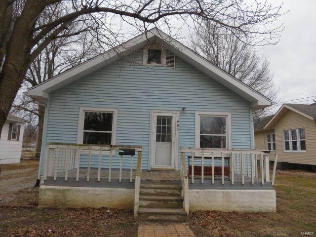 603 Frey Street, GILLESPIE, IL 62033 (#20006682) :: Fusion Realty, LLC