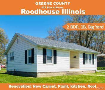 133 Rowe, Roodhouse, IL 62032 (#20031614) :: Fusion Realty, LLC