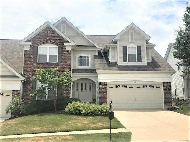 612 Bluffs View Court, Eureka, MO 63025 (#20049760) :: Matt Smith Real Estate Group