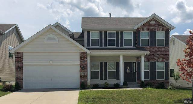 504 Pleasant Breeze Drive, Wentzville, MO 63385 (#20054219) :: The Becky O'Neill Power Home Selling Team