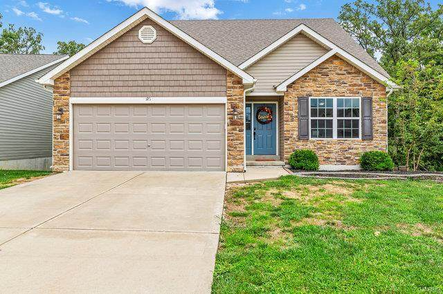 126 Ivy Brook, Wentzville, MO 63385 (#20058178) :: The Becky O'Neill Power Home Selling Team