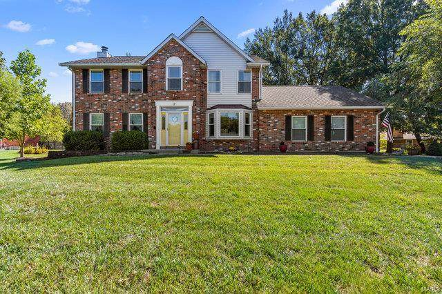 17 Briarhill Lane, Columbia, IL 62236 (#20062631) :: The Becky O'Neill Power Home Selling Team