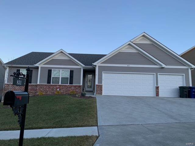 831 Liberty Creek Drive, Wentzville, MO 63385 (#21002609) :: St. Louis Finest Homes Realty Group
