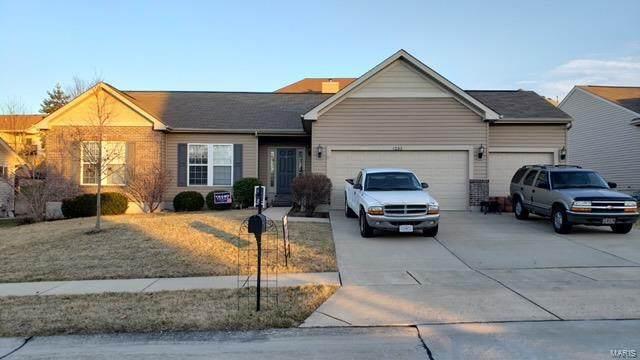 4232 Broken Rock Drive, Wentzville, MO 63385 (#21003129) :: St. Louis Finest Homes Realty Group