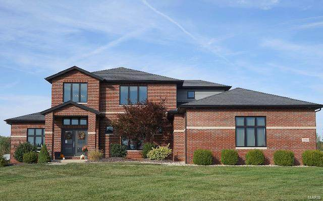 8445 Stone Ledge Drive, Edwardsville, IL 62025 (#21012668) :: Hartmann Realtors Inc.