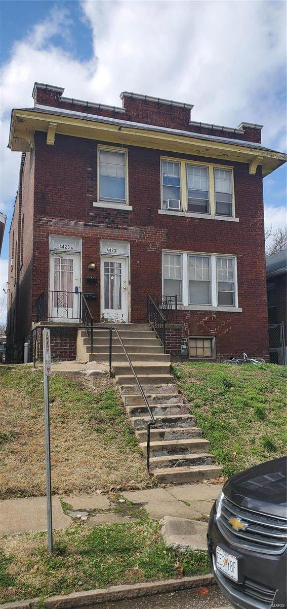 4423 Marcus Avenue, St Louis, MO 63115 (#21014712) :: Mid Rivers Homes