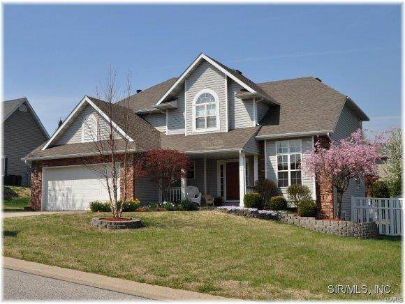 3 Cherry Hills Drive, Collinsville, IL 62234 (#21020897) :: Clarity Street Realty
