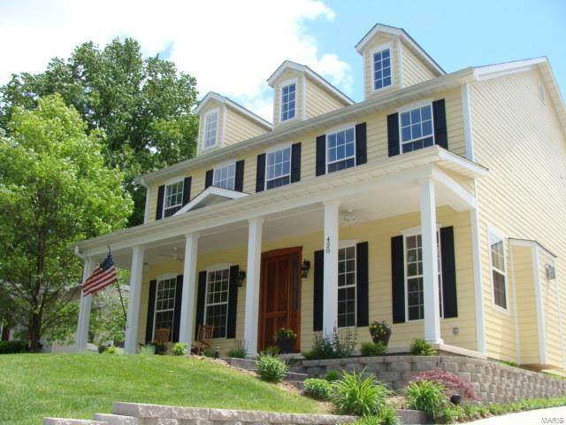 420 W Essex Avenue, St Louis, MO 63122 (#21021495) :: Clarity Street Realty