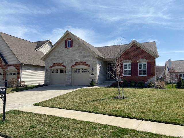 1240 Silver Fern Drive, Lake St Louis, MO 63367 (#21021787) :: Reconnect Real Estate