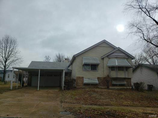 2733 Freemantle Drive, Florissant, MO 63031 (#21027556) :: Terry Gannon | Re/Max Results