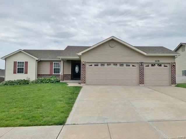 408 Prairie Creek, Wentzville, MO 63385 (#21034363) :: The Becky O'Neill Power Home Selling Team