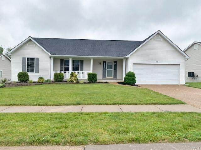 419 Wind Creek Unity, Wentzville, MO 63385 (#21038883) :: Parson Realty Group