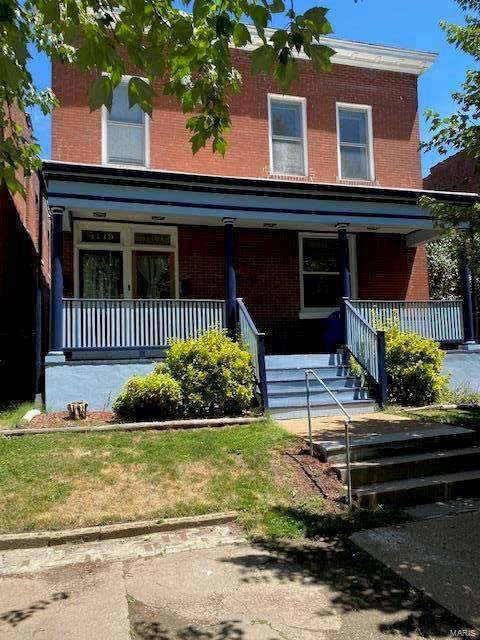 4149 Cleveland Avenue A & B, St Louis, MO 63110 (#21043260) :: Krista Hartmann Home Team