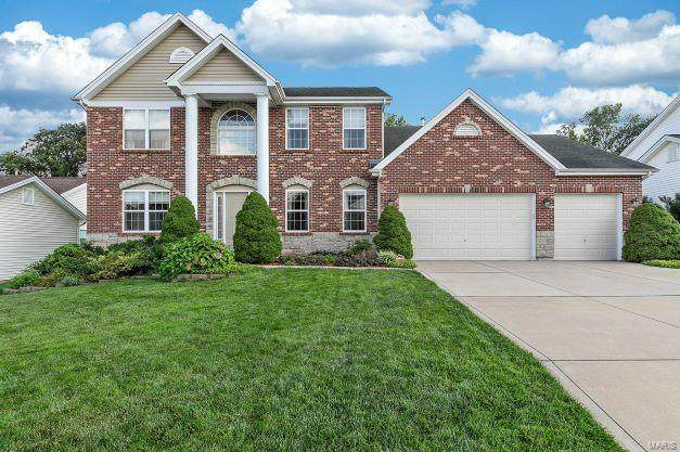 4193 Millers Ridge, Saint Charles, MO 63304 (#21060929) :: St. Louis Finest Homes Realty Group