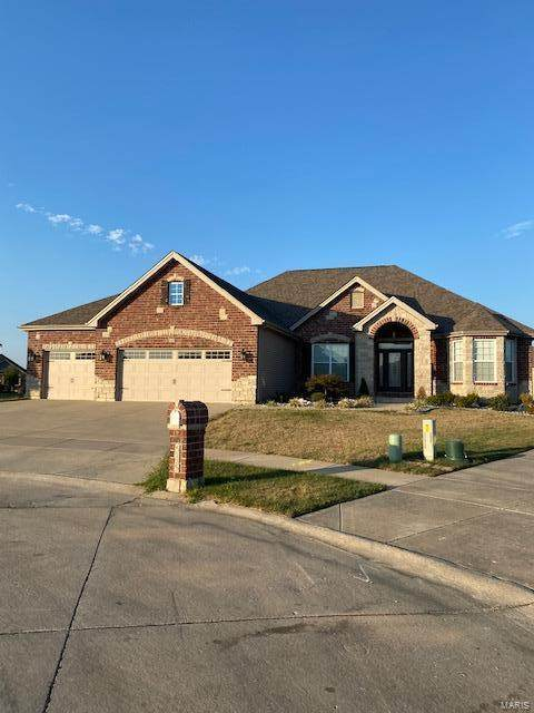 545 Forest Park Drive, Wentzville, MO 63385 (#21067545) :: Delhougne Realty Group