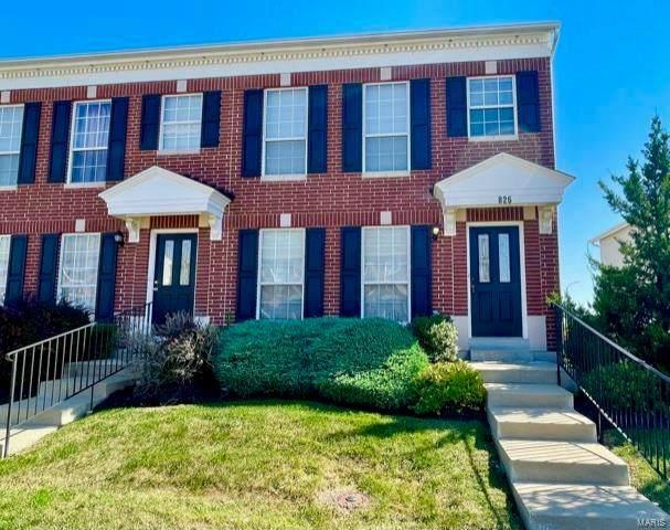 826 Brookmead Drive, O'Fallon, MO 63366 (#21074343) :: Finest Homes Network
