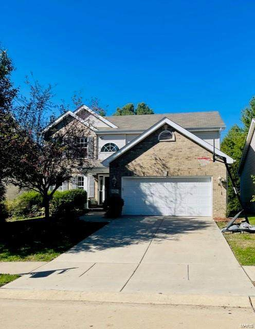 405 Tailfeather Drive, Shiloh, IL 62221 (#21074805) :: RE/MAX Professional Realty
