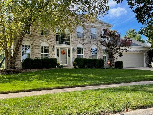 16268 Autumn View Terrace, Ellisville, MO 63011 (#21076094) :: Parson Realty Group