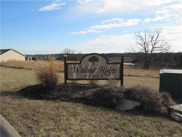 9 Lot - Walnut Ridge Place, Washington, MO 63090 (#17003330) :: St. Louis Finest Homes Realty Group