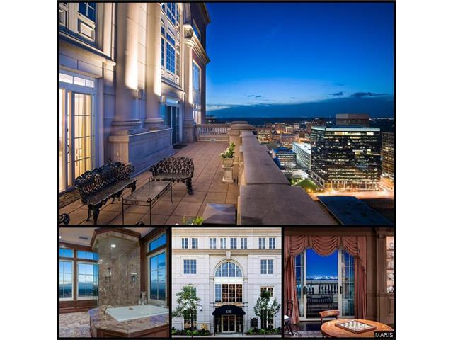 150 Carondelet Plaza #2801, Clayton, MO 63105 (#17032587) :: Carrington Real Estate Services
