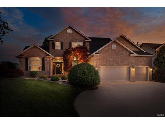 124 Somerset Drive, Glen Carbon, IL 62034 (#17036693) :: Johnson Realty