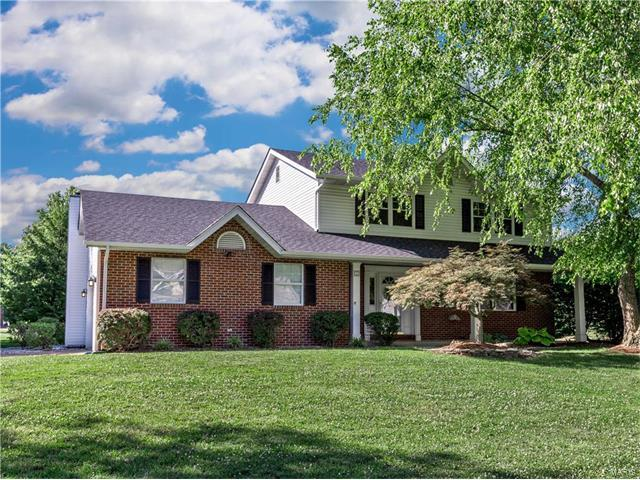 35 Sugar Lane, Collinsville, IL 62234 (#17049082) :: Holden Realty Group - RE/MAX Preferred