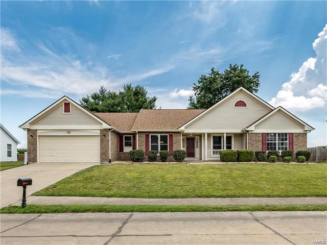 1113 Sycamore Place, O Fallon, IL 62269 (#17058840) :: Fusion Realty, LLC