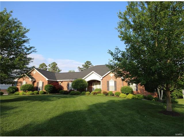 782 Southbrook Forest Court, Weldon Spring, MO 63304 (#17061453) :: The Kathy Helbig Group