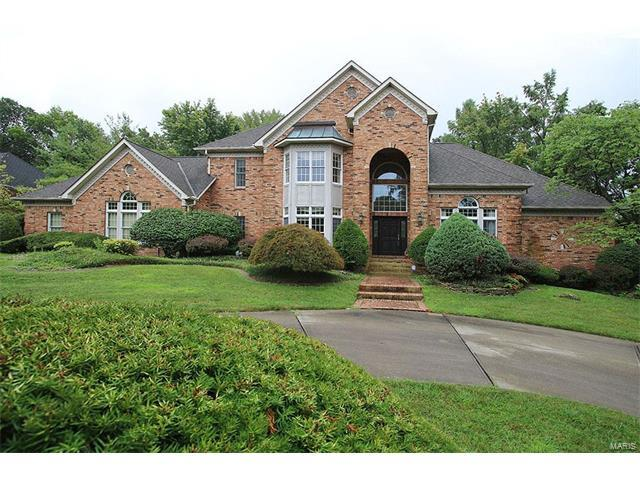 38 Country Club Drive, Edwardsville, IL 62025 (#17067475) :: Holden Realty Group - RE/MAX Preferred