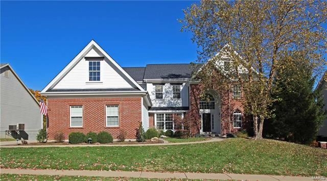 6414 Fordyce Bluffs Drive, St Louis, MO 63129 (#17070577) :: Clarity Street Realty