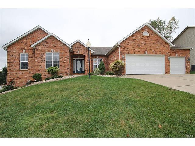 108 Somerset Drive, Glen Carbon, IL 62034 (#17079571) :: Clarity Street Realty