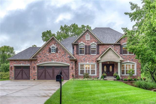 25 Baxter Lane, Chesterfield, MO 63017 (#17082250) :: Clarity Street Realty