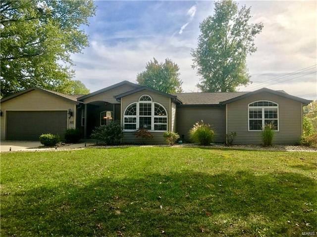 501 Lanahan Drive, Troy, IL 62294 (#17084209) :: Fusion Realty, LLC