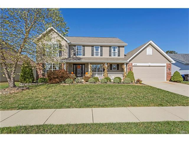 2548 Autumn Fields Lane, Wentzville, MO 63385 (#17084414) :: Kelly Hager Group | Keller Williams Realty Chesterfield