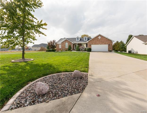 1041 Turtle Dove Trail, Waterloo, IL 62298 (#17087370) :: Clarity Street Realty