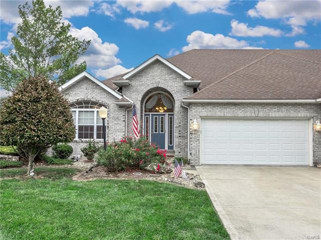 80 Ginger Creek Parkway, Glen Carbon, IL 62034 (#17087509) :: Clarity Street Realty