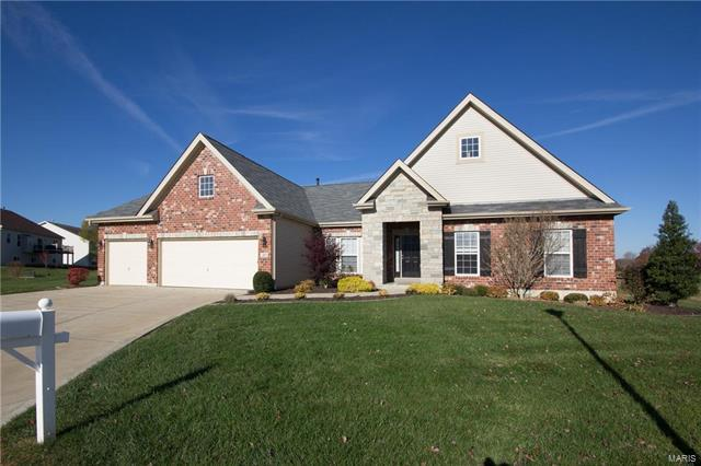 307 Ashberry Place Court, Lake St Louis, MO 63367 (#17090035) :: Clarity Street Realty