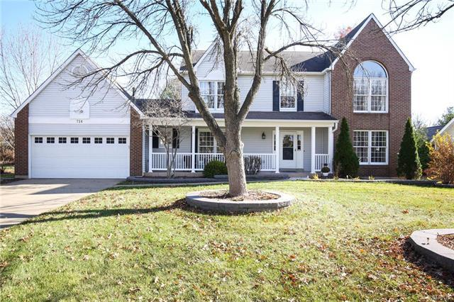 714 Scarlet Oak Drive, Lake St Louis, MO 63367 (#17091270) :: Barrett Realty Group