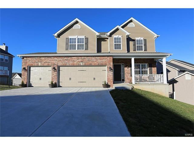 367 Amber Bluff Lane, Imperial, MO 63052 (#17095799) :: Clarity Street Realty
