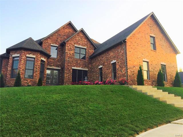 120 Fox Hill Court, Edwardsville, IL 62025 (#18000919) :: Fusion Realty, LLC