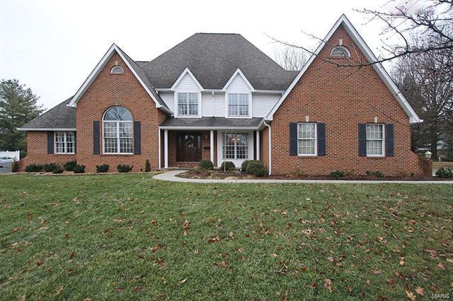 408 Oak Hill Drive, Belleville, IL 62223 (#18002155) :: St. Louis Finest Homes Realty Group