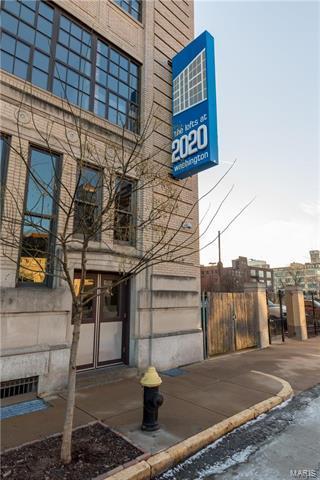 2020 Washington Avenue #606, St Louis, MO 63103 (#18002375) :: Clarity Street Realty