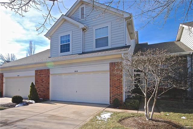 103 Chesterfield Bluffs, Chesterfield, MO 63005 (#18003652) :: Clarity Street Realty