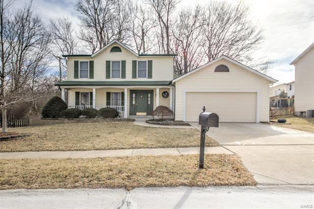 1072 Riverwood Place, Florissant, MO 63031 (#18007475) :: Clarity Street Realty