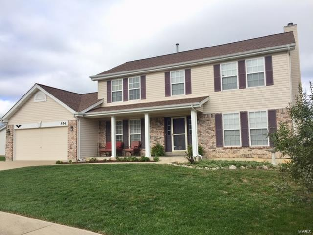 956 Searle Court, Wentzville, MO 63385 (#18079656) :: Clarity Street Realty